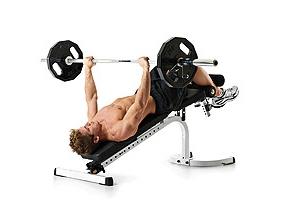 Упражнения для грудных мышц.